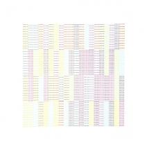 Duncan Bullen. Full Stop, 12pt, CMYK, (10x20x4), Letterpress.