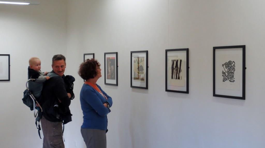 Parallel Prints at Art at Wharepuke