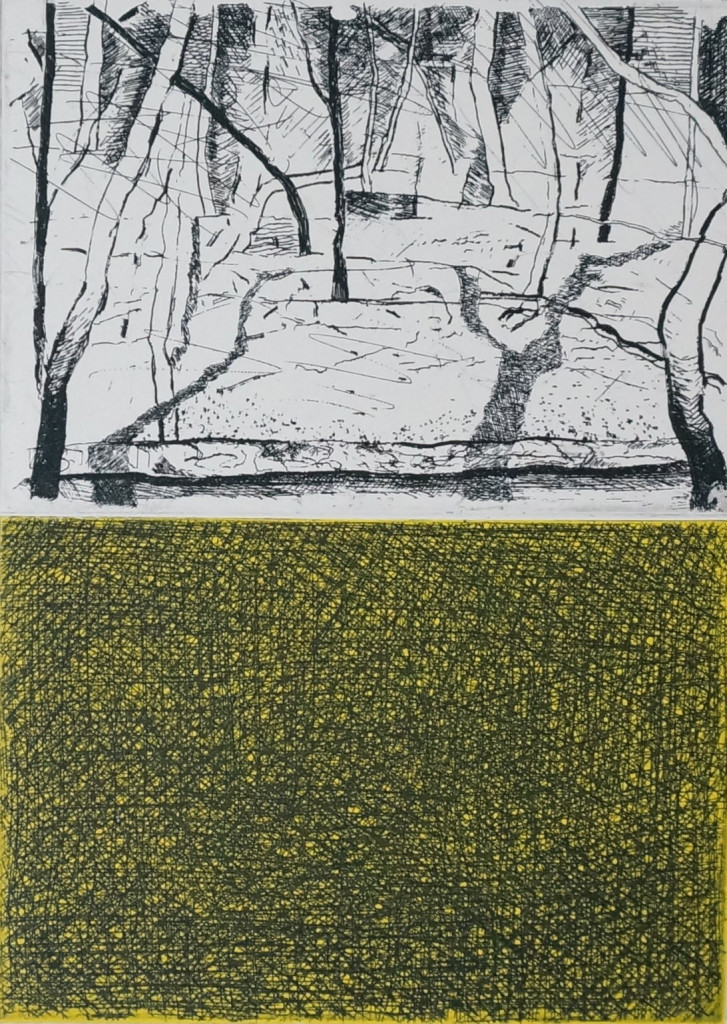 These Trees - Etching