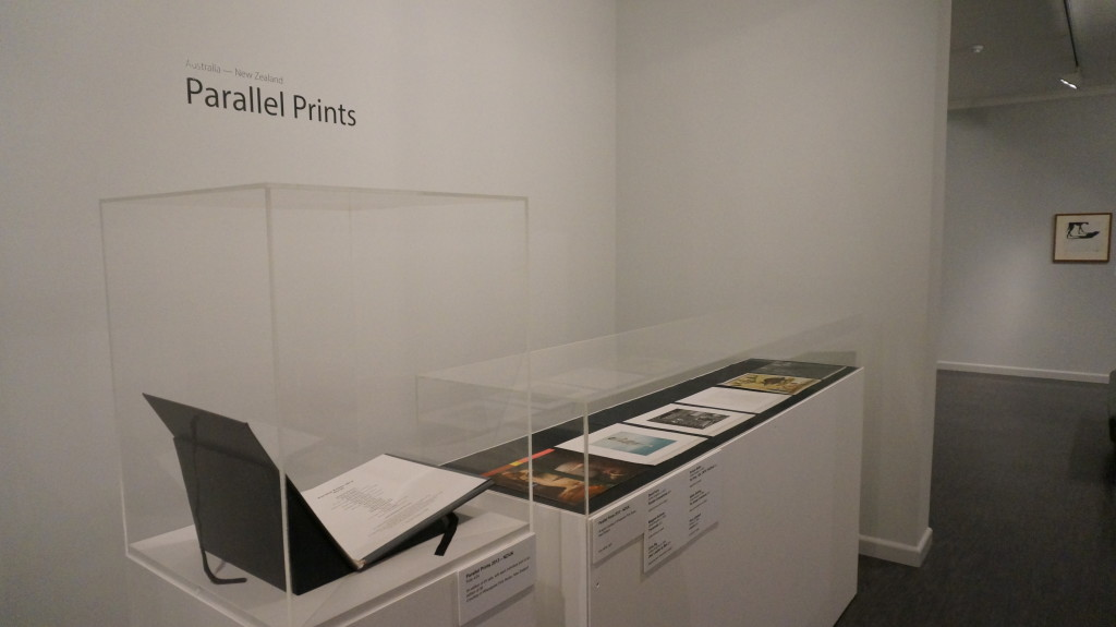 The NZ/UK Parallel Prints portfolio on show in Ballarat
