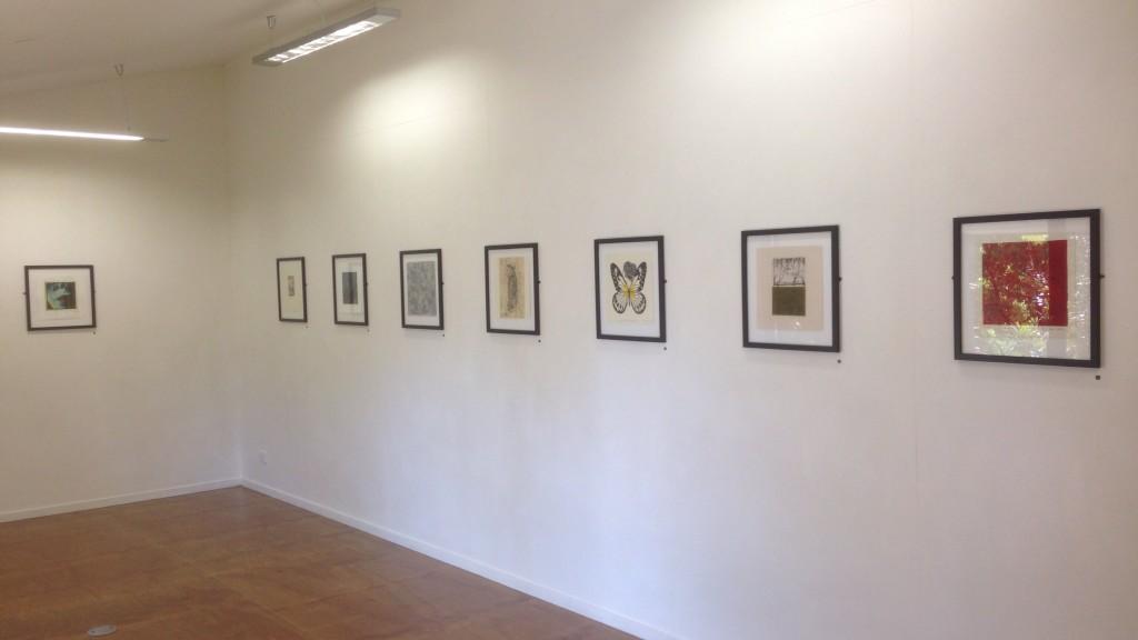 Parallel Prints at Art at Wharepuke Oct - Nov 2015