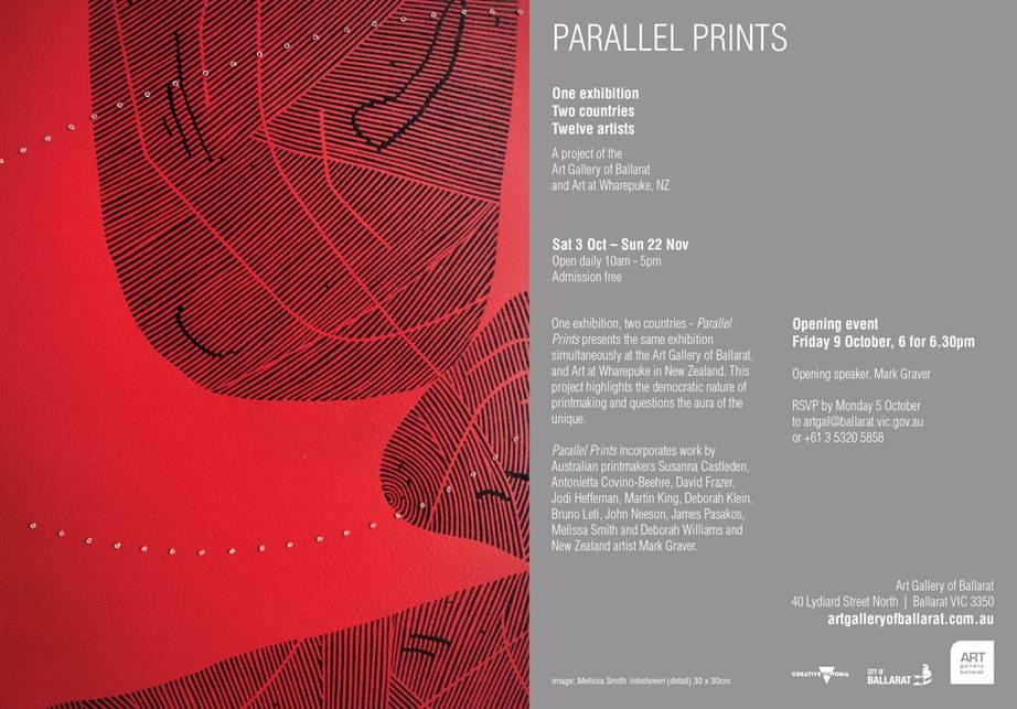 Art Gallery of Ballarat invitation
