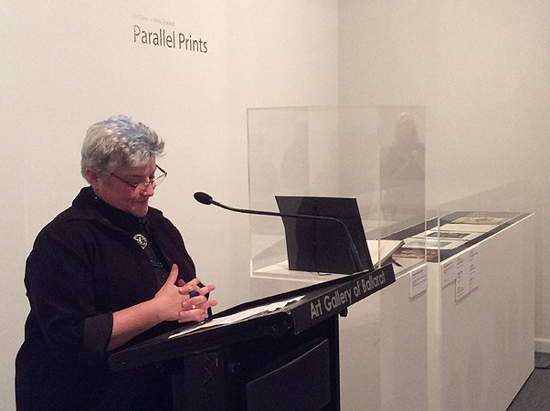 Anne Rowland, Art Gallery of Ballarat Registrar